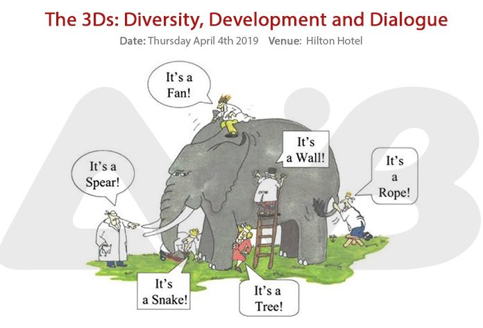 The 3Ds: Diversity, Development and Dialogue - AWiB